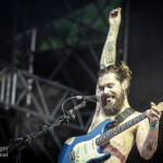 Biffy Clyro beim Taubertal-Festival in Rothenburg ob der Tauber am 8. August 2014 © Gerald Langer