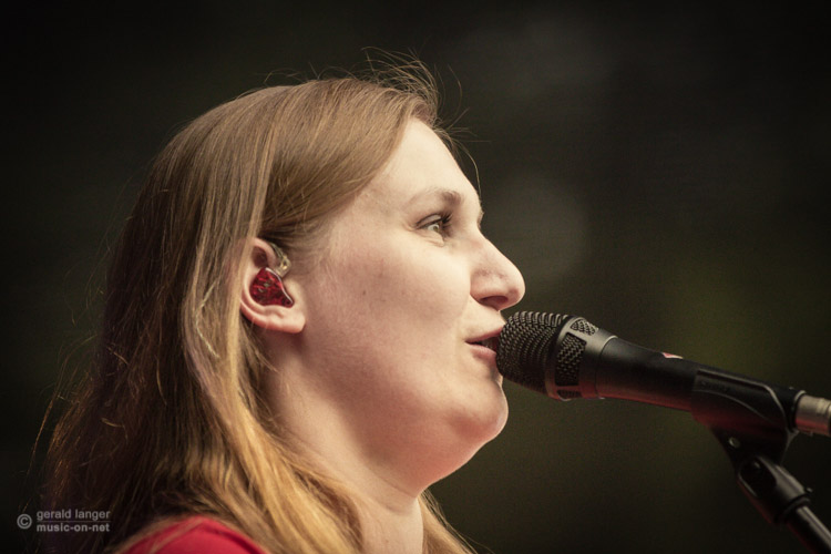 Karin Rabhansl Band beim Open Air in Volkach am 12. Juli 2015 © Gerald Langer