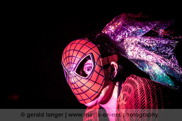 Erika Stucky Spidergirl am 6. August 2015 beim Würzburger Hafensommer © Gerald Langer