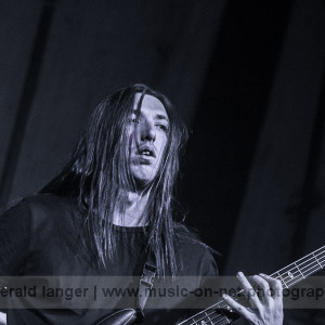 Thy Art Is Murder am 22. Januar 2016 in der Posthalle Würzburg © Gerald Langer