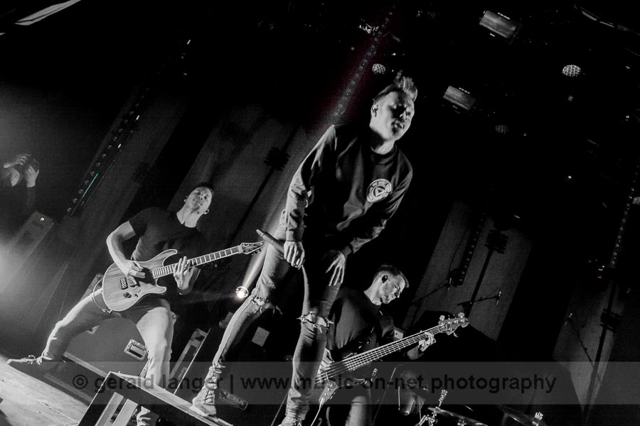 Architects am 22. Januar 2016 in der Posthalle Würzburg © Gerald Langer